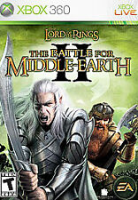 Lord of the Rings: The Battle for Middle-Earth II 2 (Xbox 360, 2006) TESTED
