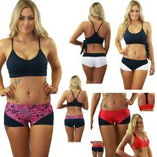 Pole and Dance Fitness sets - Dance Shorts and Dance Crop Top Size Small Only