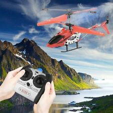 Mini Remote Control Helicopter W/ Gyro 3.5 Channel Pocket RC Drone Toy IB
