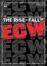 ECW - The Rise and Fall of ECW (DVD, 2004, 2-Disc Set) Used Excellent Condition.