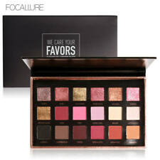 FOCALLURE® 18 Colors Palette Shimmer Matte Pigment Eye Shadow Cosmetics Mineral