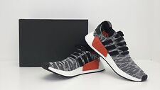 Adidas NMD_R2 PK Core Black/White/Red BY9409 Sizes 8 - 13 - BRAND NEW IN BOX!