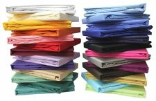 1 PC Fitted Sheet 1200 TC 100%Egyptian Cotton Bedding All Sizes New Solid Colors