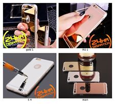 Luxury New Ultra Thin TPU Mirror Effect Metal Case Cover For all iPhone Models
