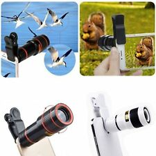 8x Zoom  Phone Camera Telephoto Telescope Lens + Clip Lot For Oneplus 5 X 3t  5t
