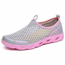 Man Cool Summer Eva Material Slip-on Outdoor  Running Sport Shoes Pink Color