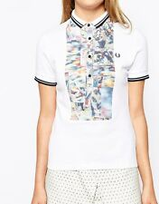 Fred Perry Amy Winehouse Foundation Twin Tipped Shirt Sizes: UK8/UK10