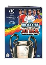 UEFA Champions League 17/18 2017/2018 match attax limited edition club 100 cards