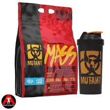 PVL Mutant Muscle Mass Weight Gainer Protein Shake 6.8kg +FREE 1 Litre Shaker