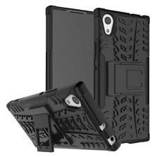 For Sony Xperia XA XA1 Plus Ultra Heavy Duty Kickstand Case Cover Skin