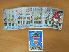 Match Attax 13/14 Limited Edition 2013 2014 Attack Giggs Toure Wilshere Hazard