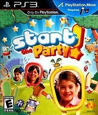Start the Party (Motion Control) for Playstation 3 (PS3). NEW!!