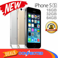 Apple iPhone 5s 32GB Factory GSM Unlocked AT&T T-Mobile - Space Gray Silver Gold