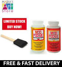 Mod Podge 16Oz Gloss Matte Decoupage Glue Adhesive Sealer Varnish Water Based