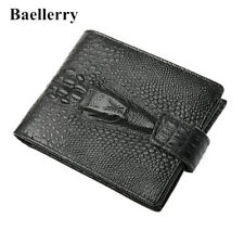 Baellerry® Genuine Leather Mens Vintage Alligator Style Wallet High Quality 2018