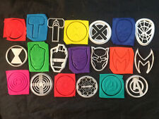 Marvel Avengers Xmen Black Panther Iron Man Cookie Cutters