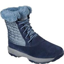 Skechers GOwalk Outdoors Wintry Womens Lace Up Mid Calf Boots