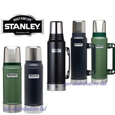 STANLEY CLASSIC DRINKS FLASK  STAINLESS STEEL THERMOS HOT COLD TRAVEL FOOD NEW