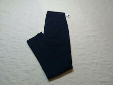 GAP DENSE TWILL PLEATED TROUSER PANTS MENS SIZE 33X30 TAPESTRY NAVY ZIP FLY NWT
