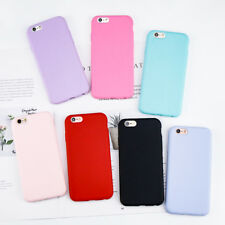 For iPhone 6 Case Candy Color Matte Soft TPU Back Cover Shell Coque For Apple iP