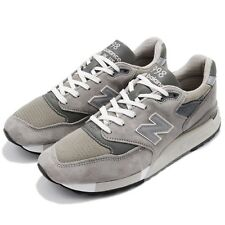 New Balance M998 D Made In USA Grey Suede Men Running Shoes Sneakers M998D