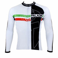 Men Sports Team Cycling Jersey Bicycle Long Sleeve Clothing Tops Wear W0062