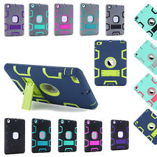 Hybird Shockproof Silicone Protective Case Hard Cover for Apple iPad MINI 1 2 3