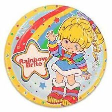 Rainbow Brite Luncheon Paper Party Plates (8 Count) 4722434 New