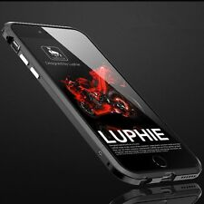 Luxury Luphie Metal Aluminum Bumper Frame Cover Case For iPhone X 8 7 6 6s Plus