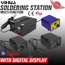 Digital Soldering Iron Station Lead Free ESD Safe Welding Tool Stand Kit OZ YH