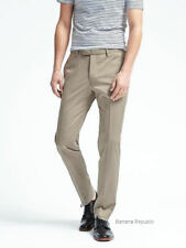 BANANA REPUBLIC MENS $160 Slim Fit Stretch Cotton Solid Trouser Pant 486245 NEW