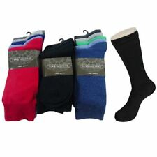 New Mens 5 Pack Socks Various Colours Cotton Mix Fin HolidaySize 7-11 Only