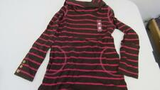 Gymboree Fall Homecoming Brown/ Pink Striped Long Sleeve Shirt Top Size 6 NEW