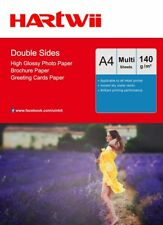 A4 140Gsm Double Sides High Glossy Inkjet Paper Photo Paper Inkjet Printing AU