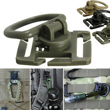2/5Pcs Molle Strap Backpack Bag Webbing Connecting Buckle Clip EDCOutdoor ToolBE
