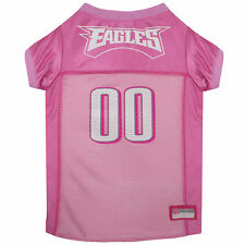 Pets First Philadelphia Eagles NFL Pink Mesh Jersey