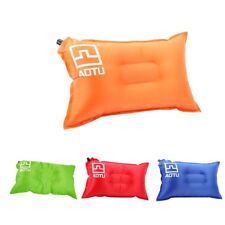Inflatable Self-Inflating Air Pillow Cushion Outdoor Camping Hiking Travel