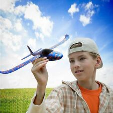 Foam Hand Launch Throwing Glider Outdoor Plane Flying Model Aircraft Kids Gift