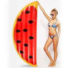 YhsBUY® Giant Pool Float Inflatable Watermelon Air Mattress Lounger Swimming Bed