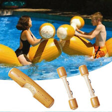 4Pcs/set Water Inflatable Bumper Game Swimming Pool Float Ride-On Row Kids Toy