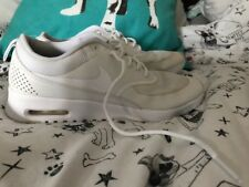 Womens White Nike Air Max Thea Trainers Uk Size 5.5