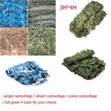 3*4M Woodland Camouflage Netting Military Army Camo Hunting Hide Cover Net Hot