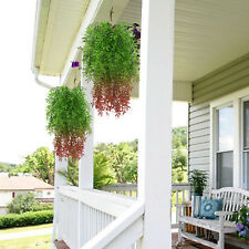 2 Pcs Artificial Hanging Vines Plants Ivy Greenery Faux Plants Wall Home Decor