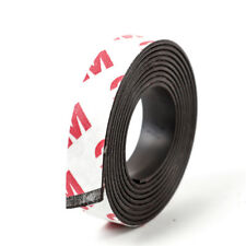 RUBBER TAPE MAGNET FLEXIBLE 10 12 15 20 30 MM MAGNETIC SELF ADHESIVE STRIP 1M CR