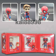 3pcs/set  Spider-Man Homecoming 10cm PVC Action Figure Toy Gift New
