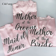 C&Fung® Personalized Mother Of The Bride Mother Of Groom Bridal Hen Party Robes