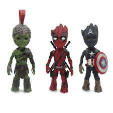 Baby Groot Cosplay Deadpool Captain America Hulk Action Figure Collectible Toys
