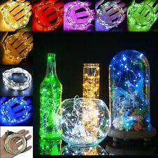 30 LEDs Battery Operated Mini LED Copper Wire String Fairy Lights 3M Christmas