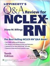 Lippincott's Q&A Review for NCLEX-RN by Diane M. Billings (2010, Paperback, Rev…