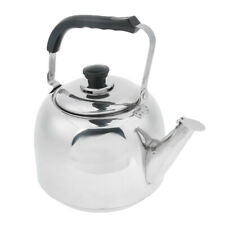 Stainless Steel Water Kettle Durable Camping Picnic Whistling Kettle Teapot